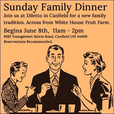 Dwinery On Twitter Diletto Winery In Canfield Begins A Family TraditionSunday Dinner June 8 11am