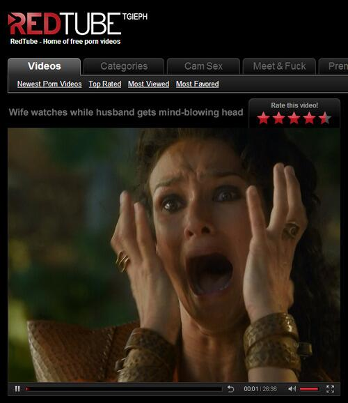 Game of thrones redtube
