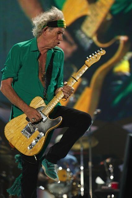 """@RollingStones Keith on stage last night #StonesTelAviv @officialKeef http://t.co/YQg3l2a4eW"