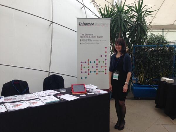 The delegates and exhibitors .@cedsummit conference #CED14! Join @EdinburghNapier @InformedScot @SCQFPartnership! http://t.co/h956U9aKTF