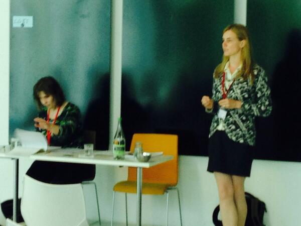 Marion Annau of Connect Legal & Christine Roddewig of #Wuppertal on entrepreneurship #citiesmigration2014 #goodideas http://t.co/9VUIIuV5XH