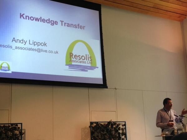 @AndyLippok Can you be an expert in #knowledge transfer? .@cedsummit #CED14 http://t.co/PjRtyybvML