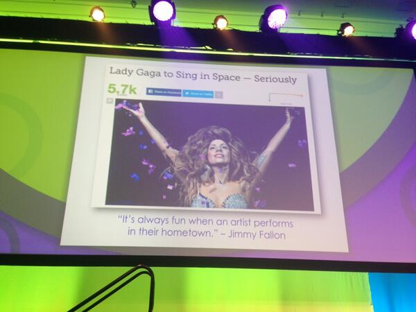 @jimmyfallon had the best reaction to @ladygaga's announcement of wanting to perform in space. #demand14 http://t.co/v3kwKkD1el