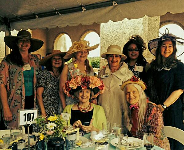Had a wonderful time at the Leffingwell Award Hat Luncheon today. @ForestPark4Ever http://t.co/fmmVPwLuQt