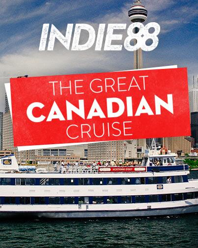 INDIE On Twitter All Aboard Indies Great Canadian Cruise - Canadian cruise