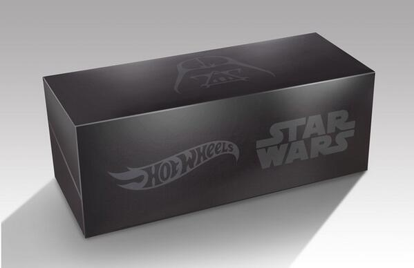 Guess what's inside this Star Wars & Hot Wheels #SDCC package! All will be revealed in Star Wars Insider #150 on 6/10 http://t.co/O6sT4uyltj