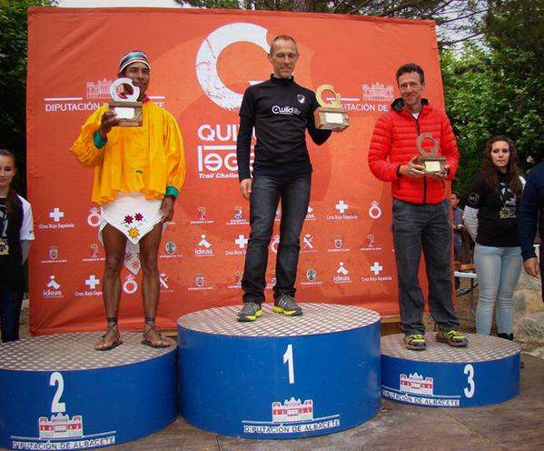 El tarahumara Silvino Cubésare ganó el segundo lugar general del Ultramaratón de España. Más:http://t.co/lW4hVixw4P http://t.co/1W2AT8USNT
