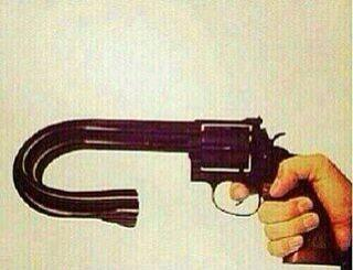 This is aptly named as #arvindkejriwal gun.
