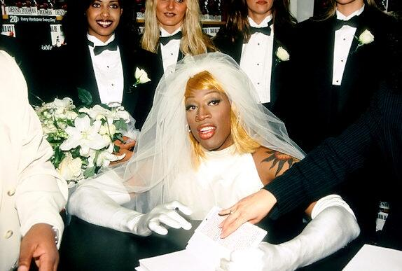 Whattheffacts Dennis Rodman Received 10 Mil To Wear The Wedding Dress Celebrate His Book Release Pic Twitter 07x8oi0asj Mwdennis10