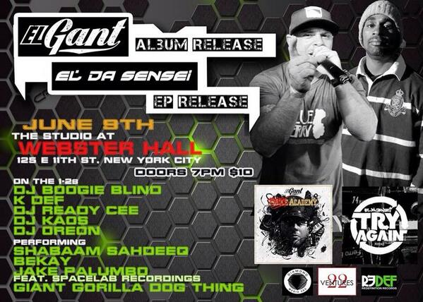 June 9th  @ElGant @eldasensei @ShabaamSahdeeq @TheRealBekay get your advance tix here: http://t.co/tvgu8ZusZB http://t.co/GmKg4ZuzCd