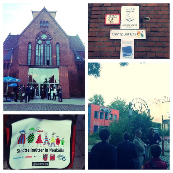 #citiesmigration2014 walk in #neukölln #genezareth intercultural centre #stadtteilmütter #rütli school http://t.co/zneKX8Hoal