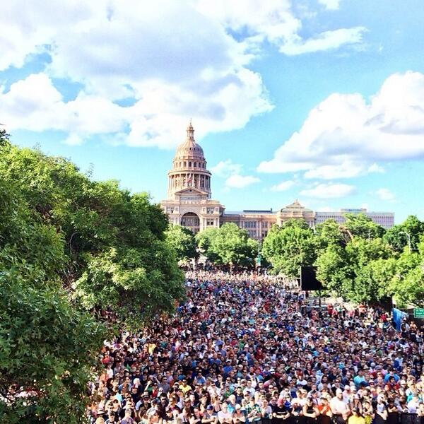 Yeah. Just a people showed up at #XGamesAustin skateboard vert... http://t.co/tPeryLgGXU