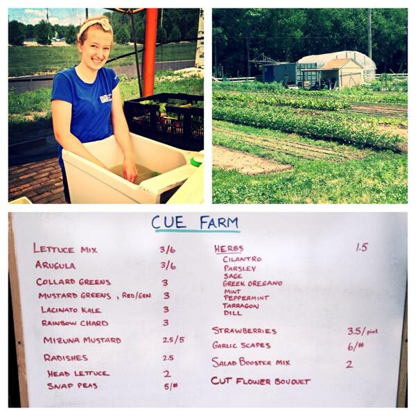 Supporting @ButlerCUEfarm and an #ISE14 participant #locallygrown  #summer http://t.co/cgA9Xt54Jl