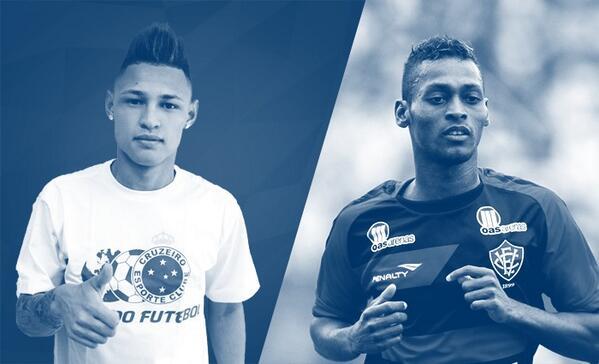 RT @Cruzeiro: Neilton e Marquinhos são os novos reforços do #Cruzeiro para o segundo semestre. http://t.co/QsBgqTzP5I