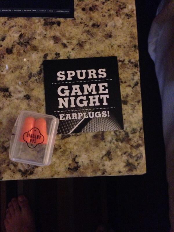 The hilton manager must be an IH @AIHA #AIHCE2014  Go @spurs http://t.co/BupFgTHL13