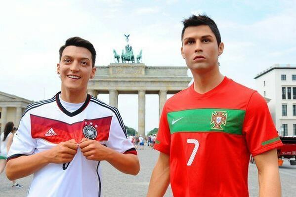 one day left! #GER #POR #Brasil2014 '@danbotvinnik: #WorldCup2014  Özil and Ronaldo in Berlin! #Özil #Ronaldo http://t.co/DjIUhYzilg'