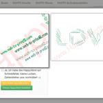 Image for the Tweet beginning: Personalisierte Wörter mit printQ.  zeigt