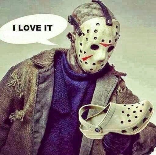 It's Friday 13th but don't be afraid - Jason has a softer side :-) http://t.co/3Ab9D5uXM7