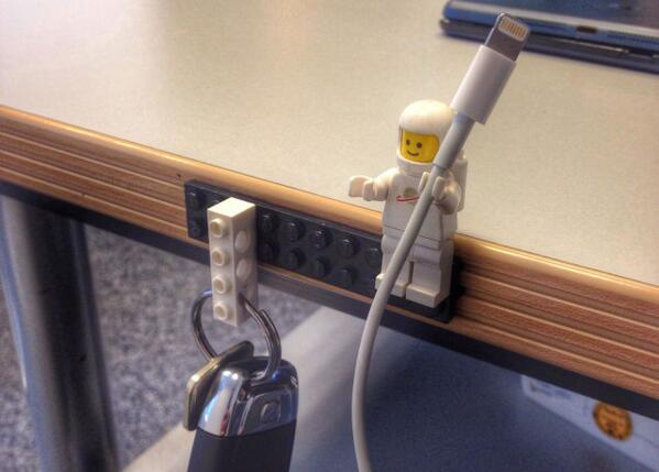 LEGO Figures Make Perfect Cable Holders http://t.co/cXYEzFhDla http://t.co/wbp1Q4S2ia