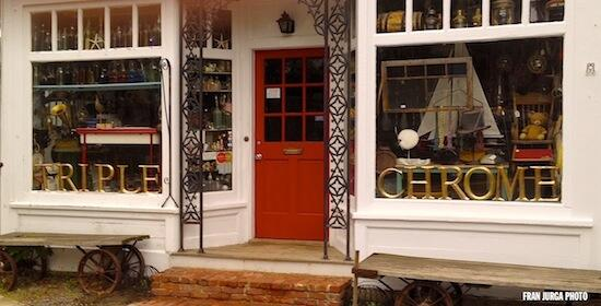 """Foregone conclusion?Essex, MA antique store believes in """"Triple Chrome""""! @CalChrome   @ShermanRacing @CaliforniaChrm http://t.co/eRQ5RT9H4I"""