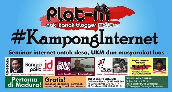 KampongInternet: Seminar tentang Internet di Sumenep