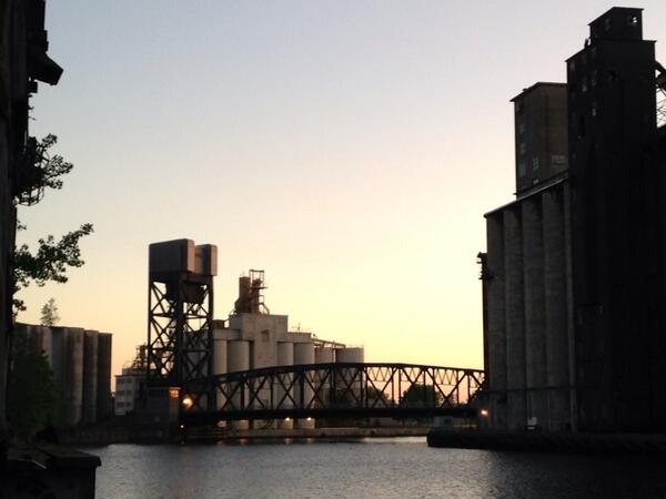 The Silos in #Buffalo. Part of a wonderful evening program at #cnu22  . Some really amazing things happening here! http://t.co/soflIG9Jft