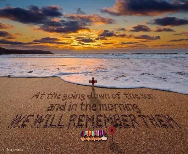 Lest we forget the sacrifice of others #DDay70 http://t.co/1y6qlQ6Ztw