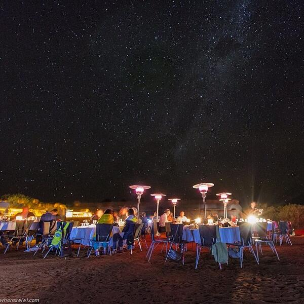Australia On Twitter Dining Under The Stars At The Sounds Of Silence E