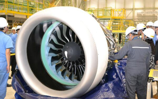 Mitsubishi Aircraft unveils first @prattandwhitney GTF engine http://t.co/5ioH75l3t1 Picture by Mitsubishi Aircraft http://t.co/HpFCwechTF