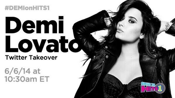 .@ddlovato answers your questions LIVE at 10:30a ET. Tweet your questions using #DemiOnHits1 http://t.co/MPFZtN4Bi2