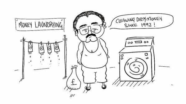 Altaf Hussain: Cleaning Dirty Money Since 1992! #AltafHussainArrested http://t.co/itAPlYGI0a