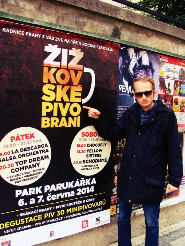"Piotrek Gawlinski on Twitter: ""#Zizkovske #pivobrani juz dzis ..."