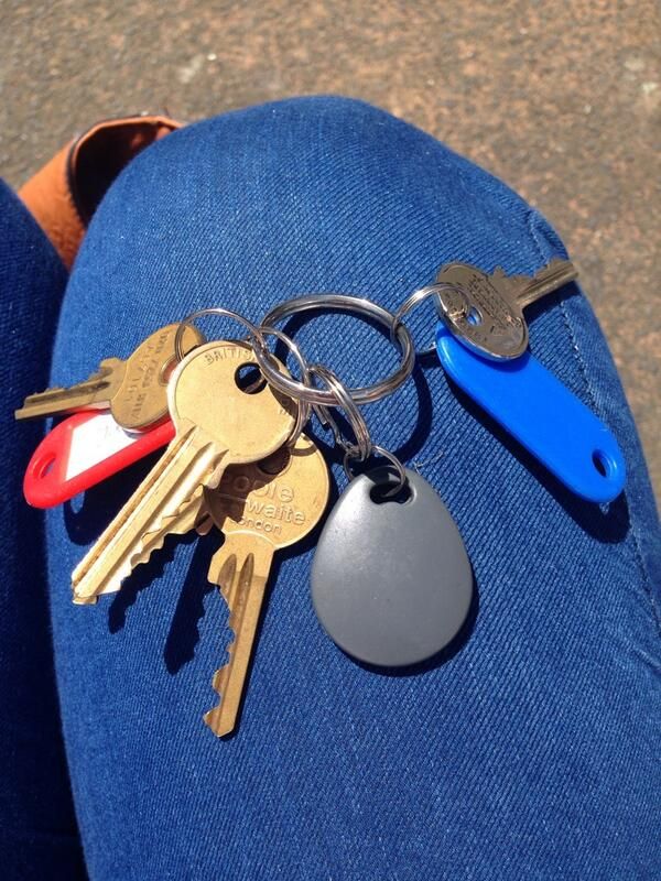 Worth a try, someone has left keys in Golden Square, London. RT to find owner as they look important! #worthatry http://t.co/ecxAWE2al1