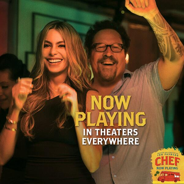 """The perfect antidote to Hollywood junk food"" — @RollingStone  Get #ChefMovie tickets here: http://t.co/xHmCHkToFO http://t.co/tbCD5LyE3C"