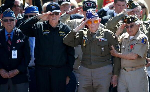 Images from today's D-Day commemorations in France: http://t.co/NWA5egh3Y8 http://t.co/yP4iANHlIS