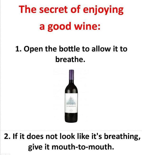 Here's a #WineTasting secret…. http://t.co/3QqOLMofOq