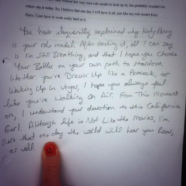 Essay about role models in life