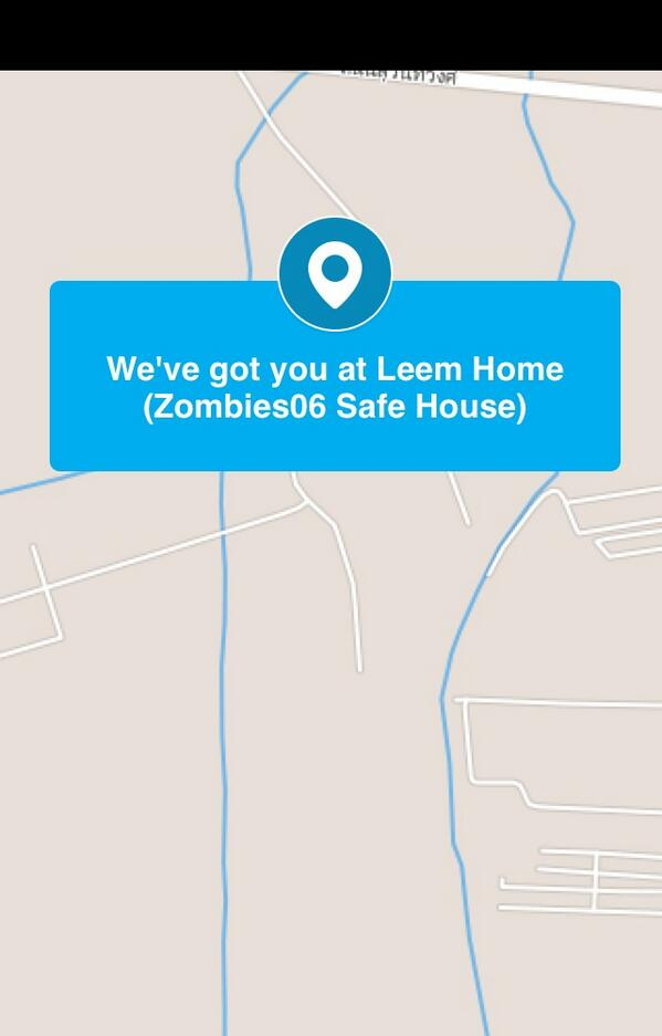 I just checked in at Leem Home (Zombies06 Safe House)! http://4sq.com/1j6Yi70pic.twitter.com/9nWICH16Ox