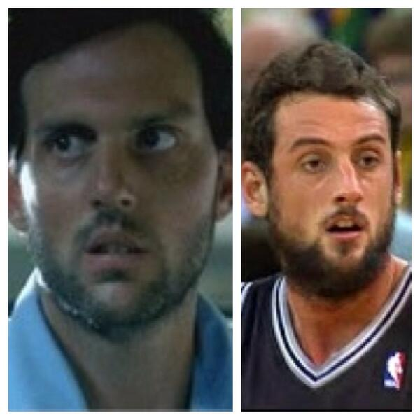 Kubs On Twitter Haywire From Prison Break And Marco Belinelli Similarity I Think So Http T Co Uadheobyl0