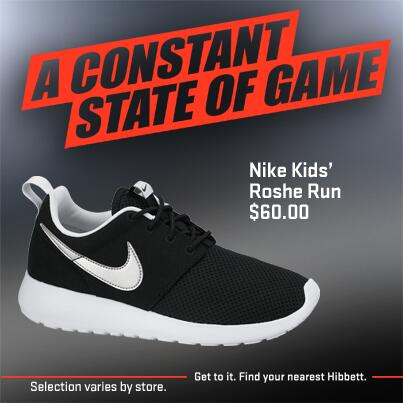 Nike Roshe Run Sports Hibbett