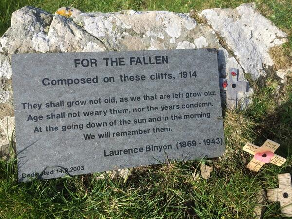 I took this photo last week in Cornwall from the spot the poem was written. Very apt for today's Dday anniversary. http://t.co/fFiABYyV4o