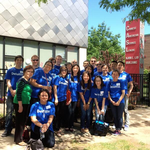@DeloitteUS Final group shot before we left Chinese American Services League in Chicago for #IMPACTDay http://t.co/JAlYFqxpMp