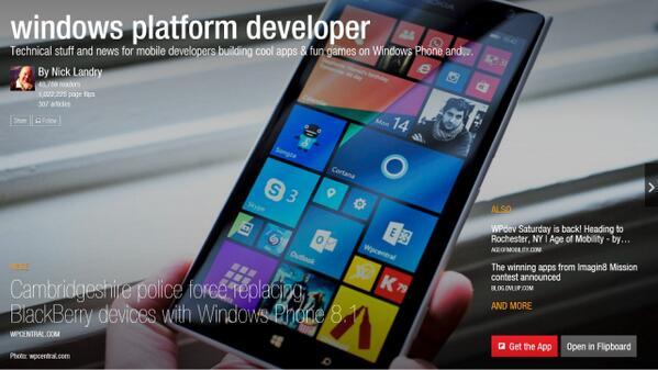 (re)Introducing Windows Platform Developer Magazine: http://t.co/pLrOEZid4V #wpdev @dvlup #WindowsPhone - Please RT! http://t.co/rFAtgmfhzZ