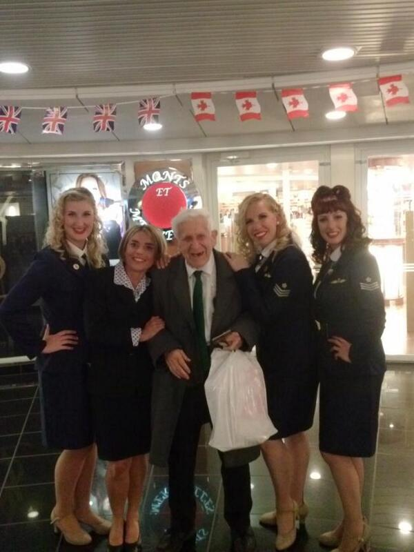 Bernard Jordan, 89 - who snuck away from his care home - on the ferry to Normandy http://t.co/srTI4YtSlY http://t.co/0l9oeZj64U #Legend!