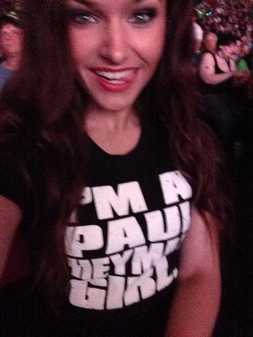 I hope all of you are watching #SmackDown tonight. You just might me there. @HeymanHustle #PaulHeymanGirl