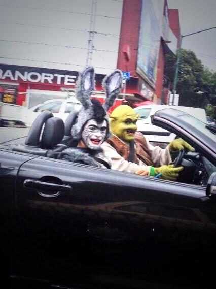 Fredy Guillen On Twitter Nataliasosadiva Shrekmexico Y El Burro Edgarcanass Diciendo Ya Merito Llegamos Al Teatro 2