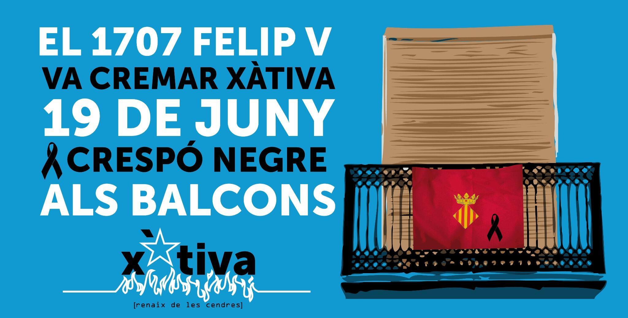 #Socarrats #CrespóNegre #XativaNoOblida