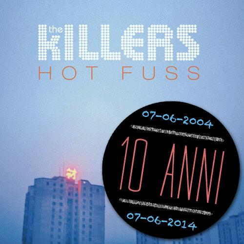Happy 10th birthday #HotFuss! @thekillers http://t.co/PKyYE5guGA