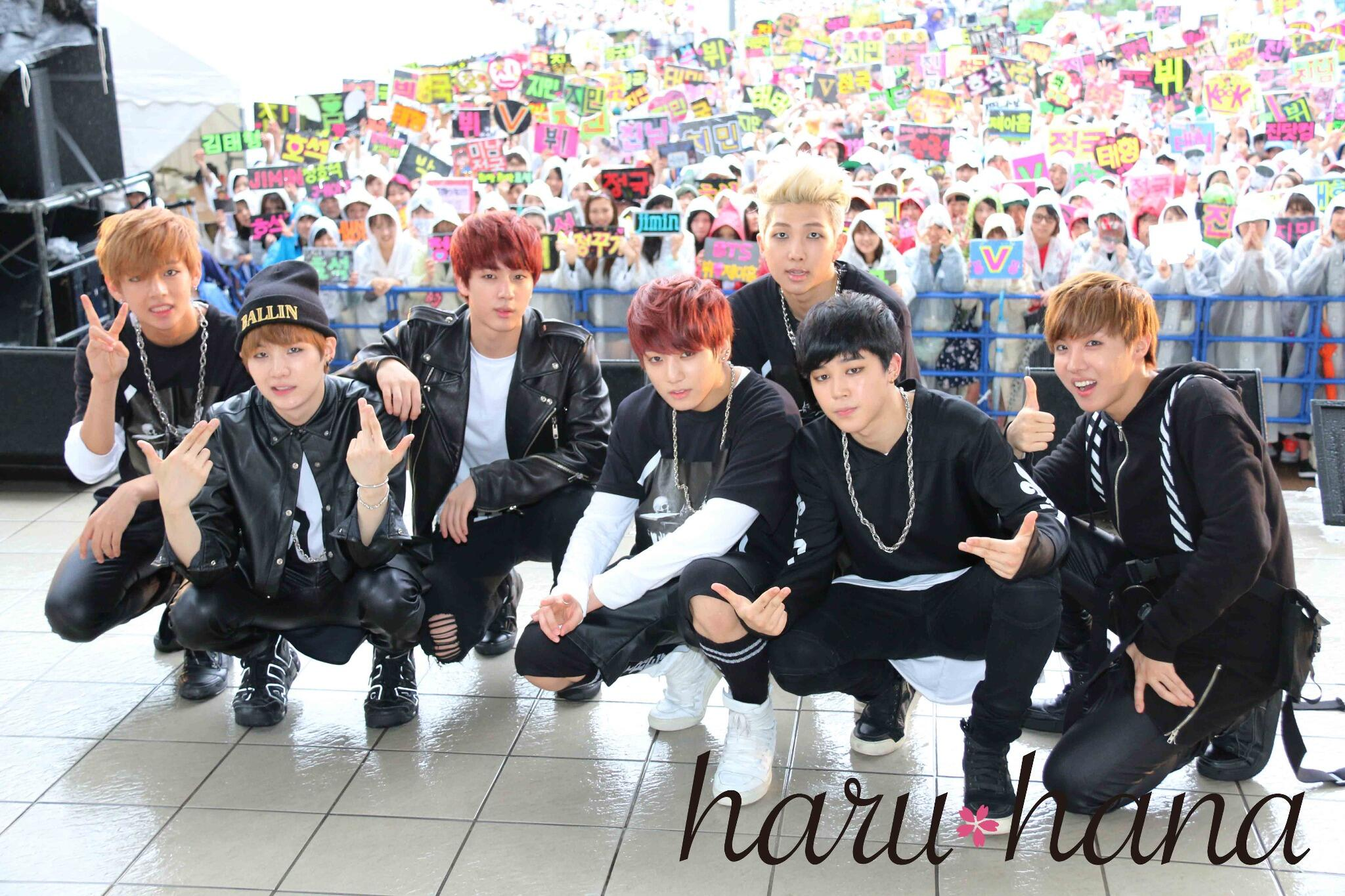 Picture Media Bts No More Dream Release Event At Divercity Tokyo