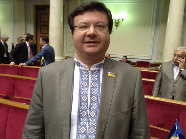 Бандеровская мода на инаугурации Порошенко